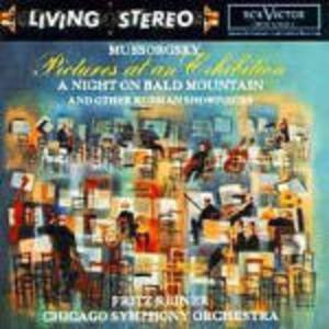 Quadri di un'esposizione (Pictures at an Exhibition) - Una notte sul Monte Calvo - CD Audio di Modest Petrovich Mussorgsky,Fritz Reiner,Chicago Symphony Orchestra