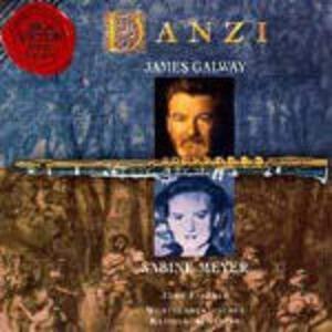 Flute and Clarinet Concertos - CD Audio di James Galway,Sabine Meyer,Franz Ignaz Danzi
