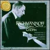 CD Rachmaninoff plays Chopin Fryderyk Franciszek Chopin Sergej Vasilevich Rachmaninov