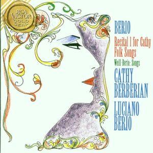 Foto Cover di Recital I for Cathy - Folk Songs / Songs, CD di AA.VV prodotto da RCA Gold Seal