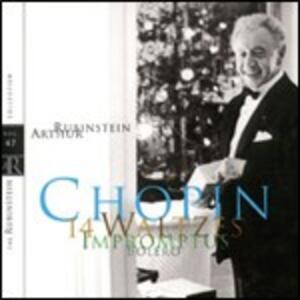 14 Valzer - Impromptus - Boléro - CD Audio di Fryderyk Franciszek Chopin,Arthur Rubinstein