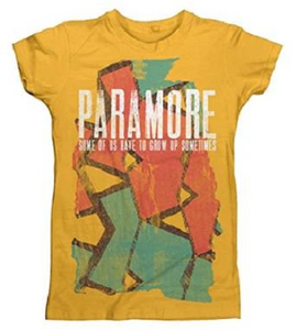 Idee regalo T-Shirt Donna Paramore. Sometimes Pattern Plastic Head