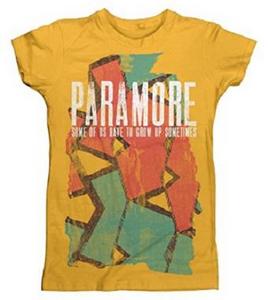 Idee regalo T-Shirt Donna Paramore. Sometimes Pattern Plastic Head