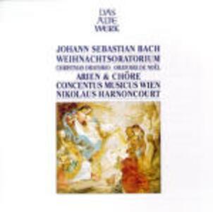 Oratorio di Natale (Weihnachts-Oratorium) - CD Audio di Johann Sebastian Bach,Nikolaus Harnoncourt,Siegmund Nimsgern,Kurt Equiluz,Concentus Musicus Wien