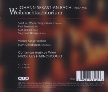 Weihnachtsoratorium - CD Audio - 2