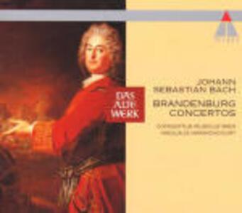 Concerti brandeburghesi completi - CD Audio di Johann Sebastian Bach,Nikolaus Harnoncourt,Concentus Musicus Wien