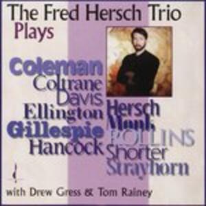 Plays - CD Audio di Fred Hersch