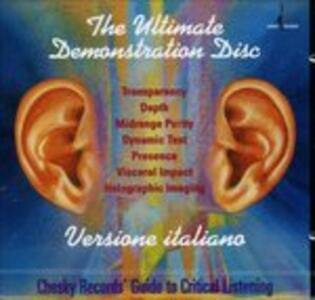 Ultimate Demonstration dc - CD Audio