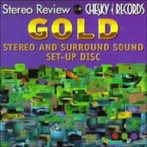 Chesky Gold Utility . Stereo Setup Disk - CD Audio