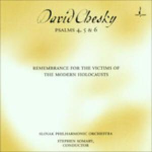 Psalms 4 5 & 6 - CD Audio di David Chesky