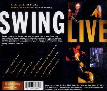 Swing Live - CD Audio di Bucky Pizzarelli - 2
