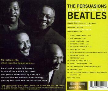 Sing the Beatles - CD Audio di Persuasions - 2