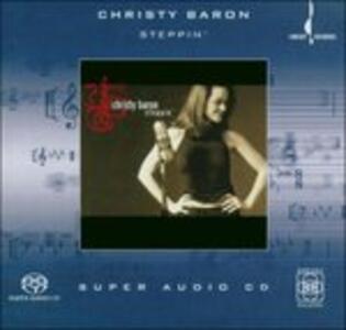 Steppin' - SuperAudio CD di Christy Baron