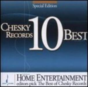 Chesky Records 10 Best - CD Audio