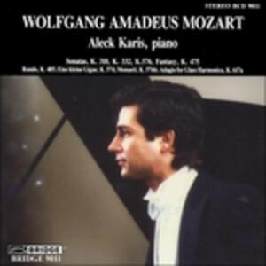 Sonata & Fantasy - CD Audio di Wolfgang Amadeus Mozart