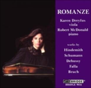 Romanze - Music for Viola - CD Audio