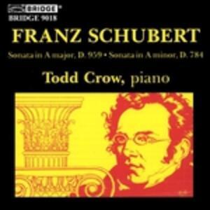Sonate - CD Audio di Franz Schubert