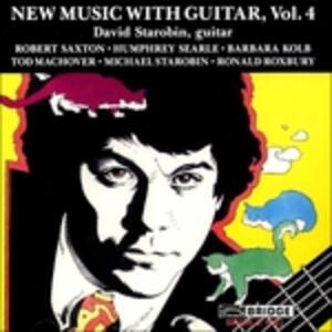 New Music with Guitar vol.4 - CD Audio di David Starobin