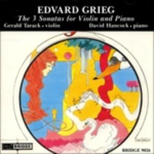 Sonate - CD Audio di Edvard Grieg