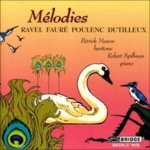 Melodies - French Songs - CD Audio