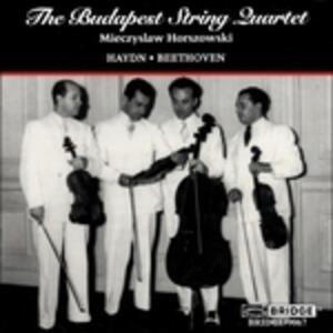Quartets - CD Audio di Ludwig van Beethoven,Franz Joseph Haydn