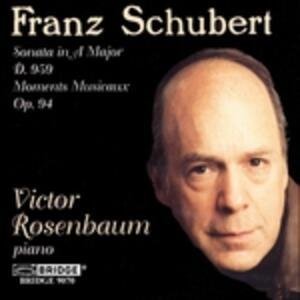 Sonata in a Major D 959;m - CD Audio di Franz Schubert
