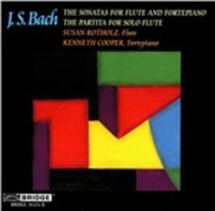 Sonate for Flute & Forte - CD Audio di Johann Sebastian Bach
