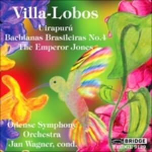 Uirapuru - Bachianas Brasil - CD Audio di Heitor Villa-Lobos