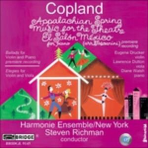 Appalachian Spring - CD Audio di Aaron Copland