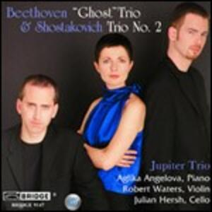 Trio con pianoforte n.5 / Trio con pianoforte n.2 - CD Audio di Ludwig van Beethoven,Dmitri Shostakovich,Jupiter Trio