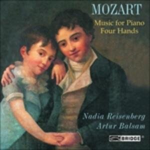 Music for 4 Hands - CD Audio di Wolfgang Amadeus Mozart
