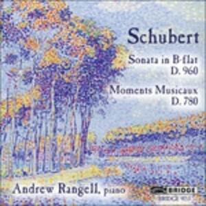 Sonata D960 - CD Audio di Franz Schubert