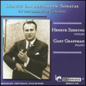 Sonate per violino n.1, n.3, n.9 - CD Audio di Ludwig van Beethoven,Henryk Szeryng