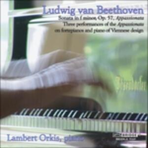 Appassionata - Sonata in F - CD Audio di Ludwig van Beethoven