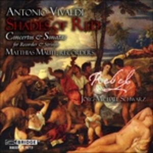 Shades of Red - CD Audio di Antonio Vivaldi