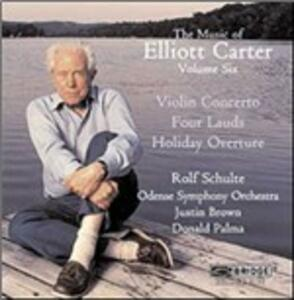 Elliott Carter Edition vol.6 - CD Audio di Elliott Carter