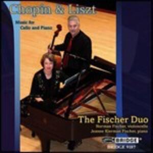 Musica completa per violoncello e pianoforte - CD Audio di Fryderyk Franciszek Chopin