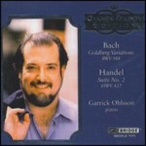 Variazioni Goldberg - CD Audio di Johann Sebastian Bach