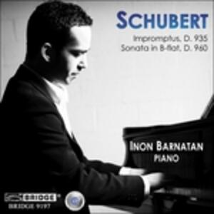 Impromptus D935 - CD Audio di Franz Schubert