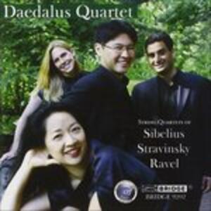 Quartetti per Archi - CD Audio di Daedalus Quartet