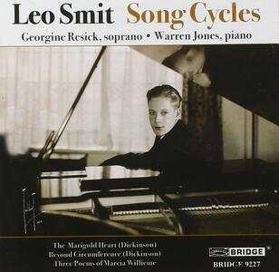 Song Cycles - CD Audio di Leo Smit