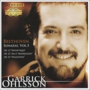 Sonate vol.5 - CD Audio di Ludwig van Beethoven