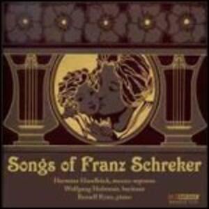 Lieder - CD Audio di Franz Schreker
