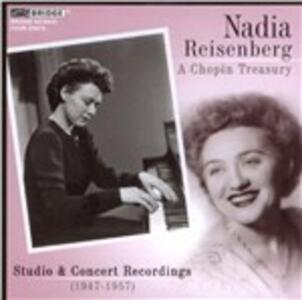 A Chopin Treasury - CD Audio di Fryderyk Franciszek Chopin,Nadia Reisenberg