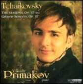 CD Le Stagioni - Grande sonata op.37 Pyotr Il'yich Tchaikovsky Vassily Primakov