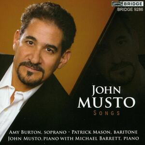 Songs - CD Audio di John Musto