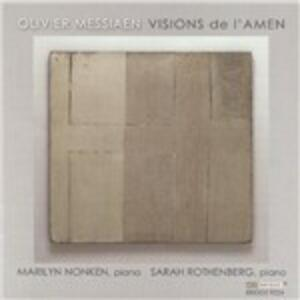 Visions de l'Amen - CD Audio di Olivier Messiaen