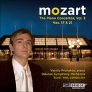 Concerti per Pianoforte vol.3. no - CD Audio di Wolfgang Amadeus Mozart