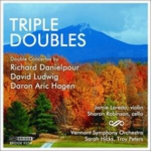 Triple Doubles - CD Audio di Jaime Laredo