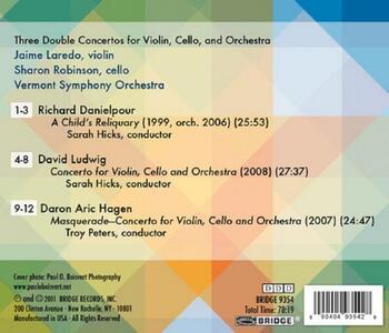 Triple Doubles - CD Audio di Jaime Laredo - 2
